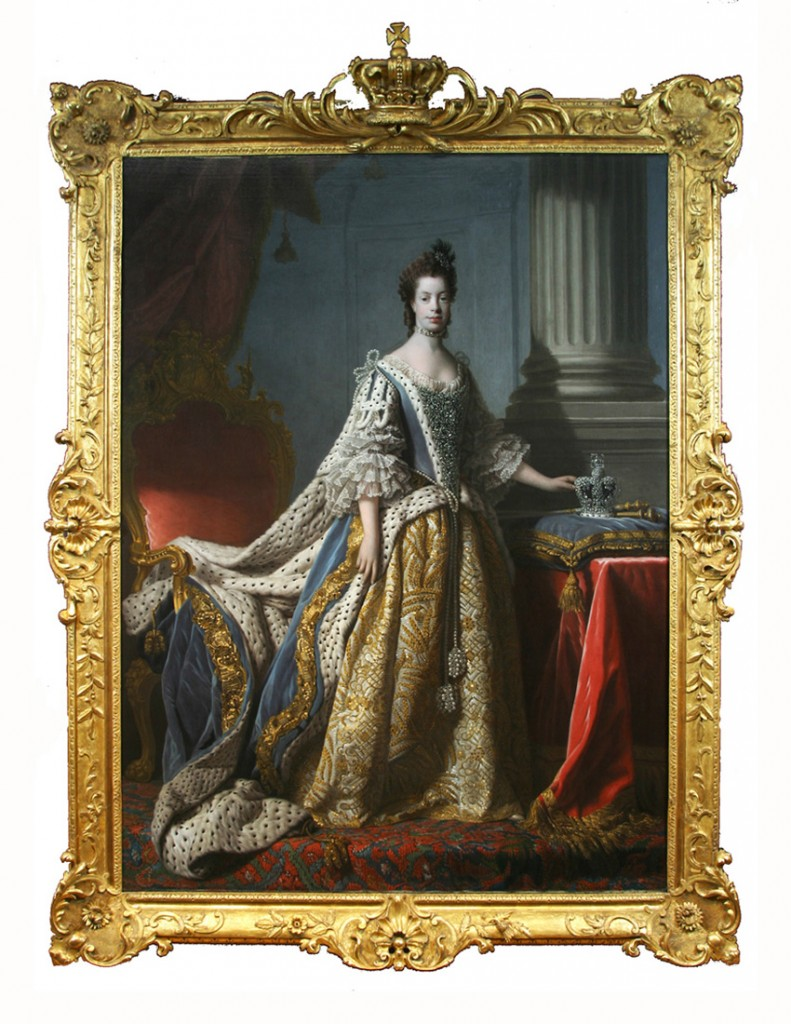 Sir Allan Ramsay, Coronation Portrait of Queen Charlotte, 1762, Mint Museum, Charlotte, NC