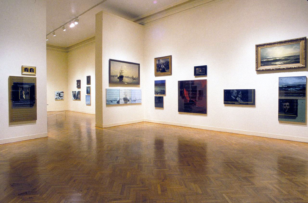 Ken Aptekar: Talking to Pictures, 1997-8, Corcoran Museum of Art, Washington, D. C.