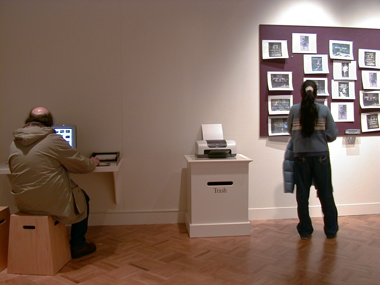 Ken Aptekar: Eye Contact, Memorial Art Gallery, Rochester, NY