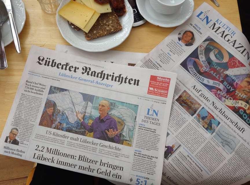 Lübeck Daily Newspaper, February 6, 2016