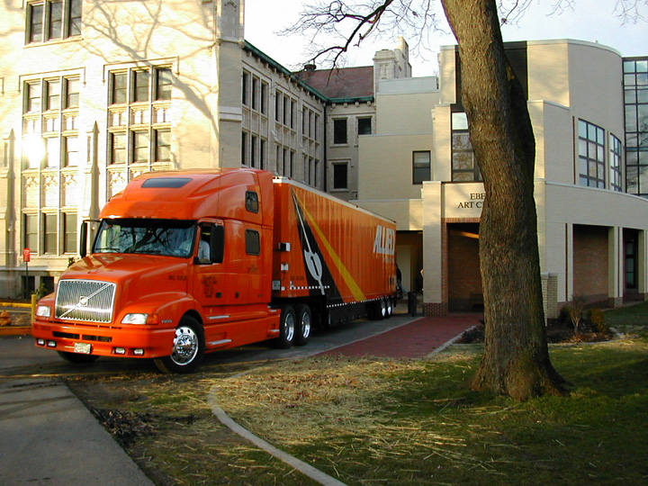Works arriving at Wooster College Museum of Art