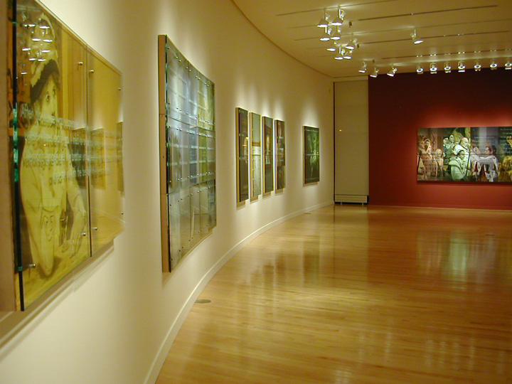 Ken Aptekar: Painting Between the Lines, Wooster College Museum of Art