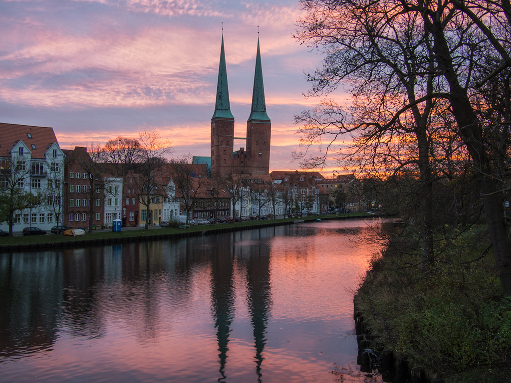 Lübeck at dawn